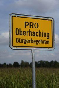 Bürgerbegehren PRO Oberhaching Schulcampus Deisenhofen